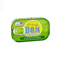 Tuna fish in olive oil Bom Petisco