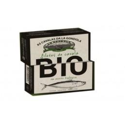 Filetes de Caballa en Aceite Biológico La Gondola 120g